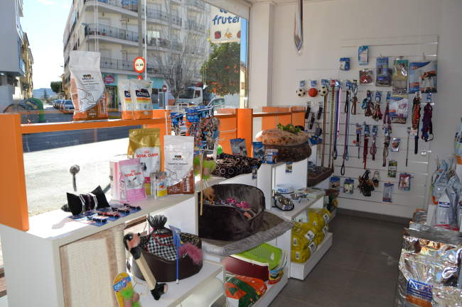 Tienda de animales Nexo en Puerto Lumbreras