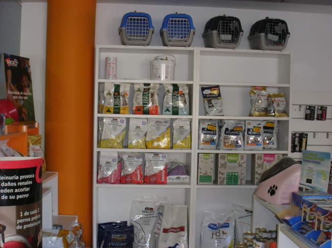 Tienda de mascotas Nexo Veterinarios en Albox, Almería