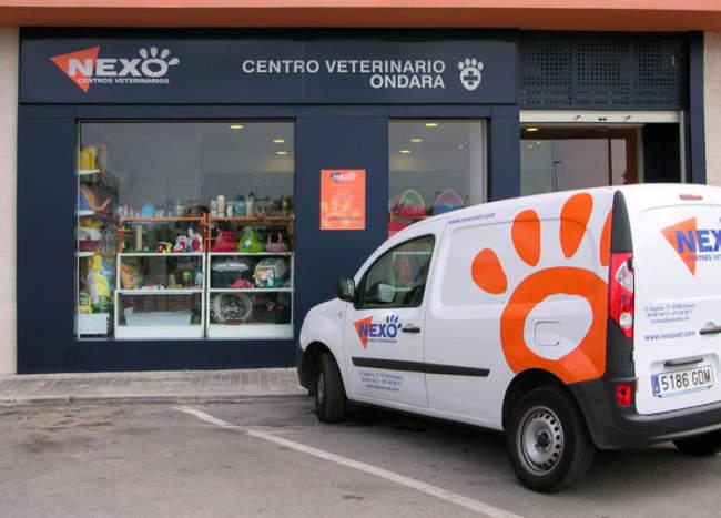 Centro veterinarios Nexo en Ondara, Alicante